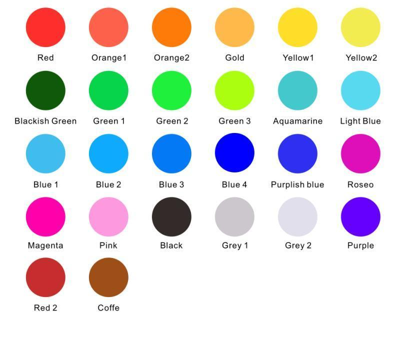 color palette reference Insatgobo