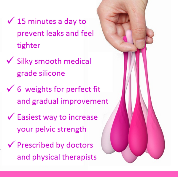 Premium Kegel Exercise Weights