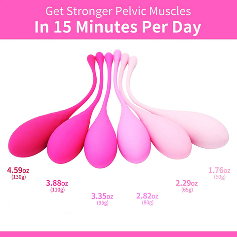 Premium Kegel Exercise Weights - Now On Sale!