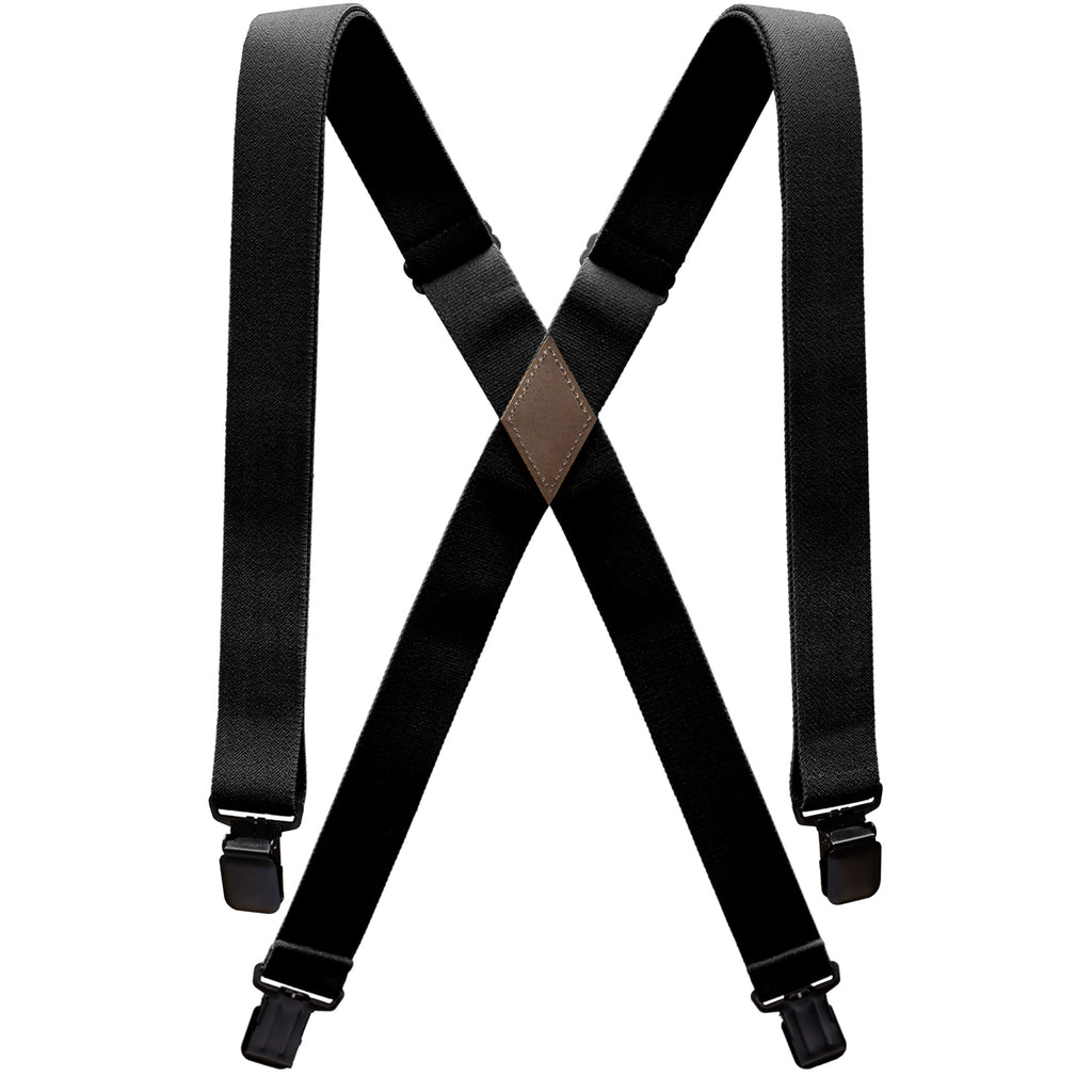 Arcade Belts Suspenders Jessup Black