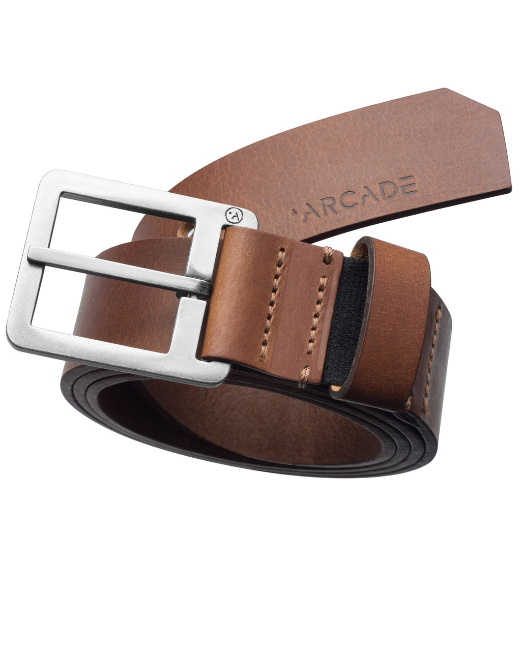 Arcade Leather Belts Padre Brown