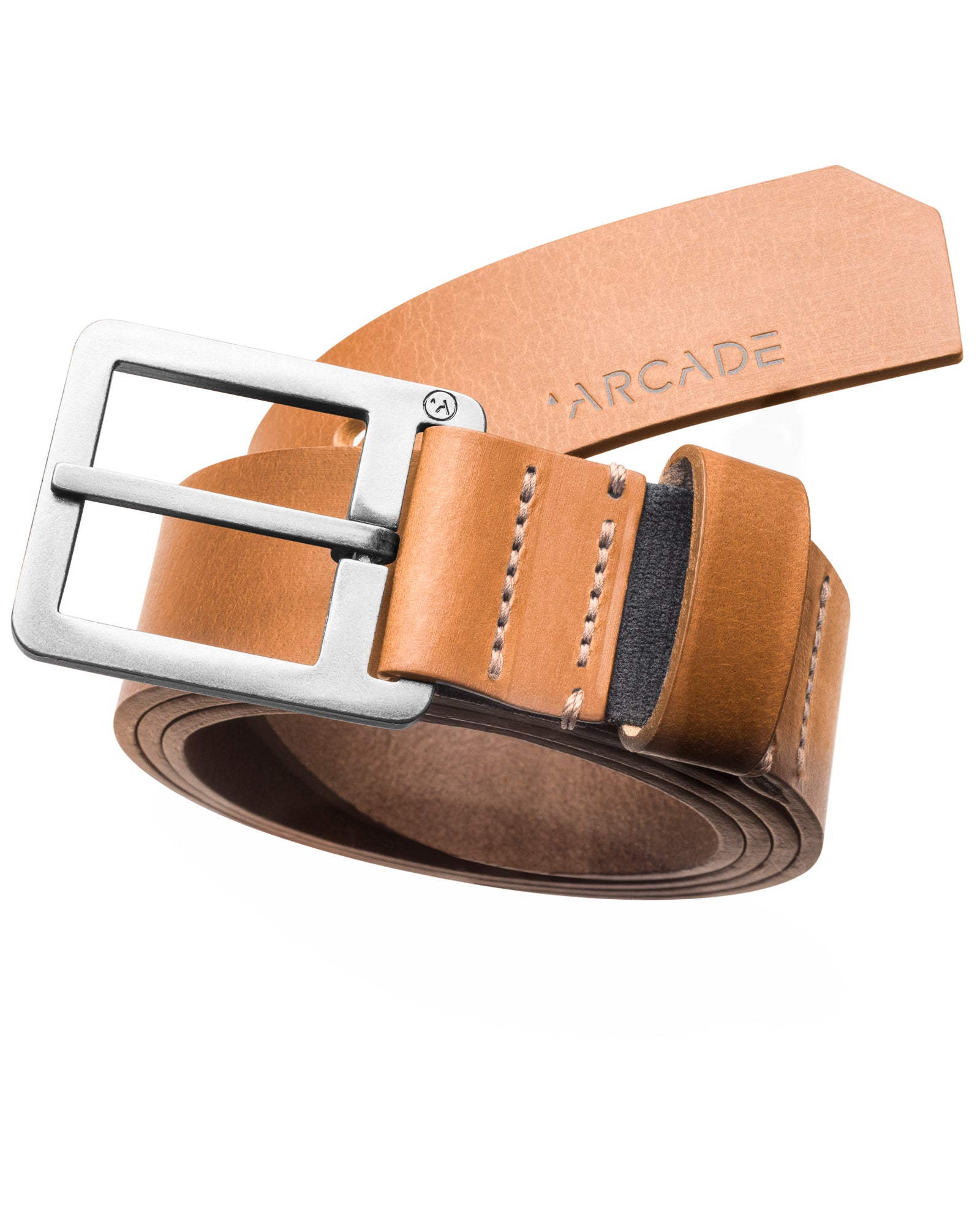 Arcade Leather Belts Padre Tan