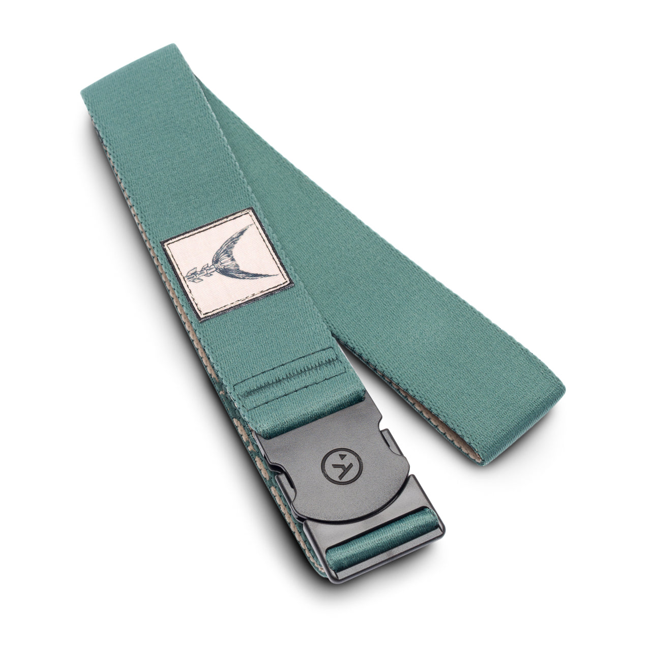 Arcade Belts Rambler Dorado Green Fish