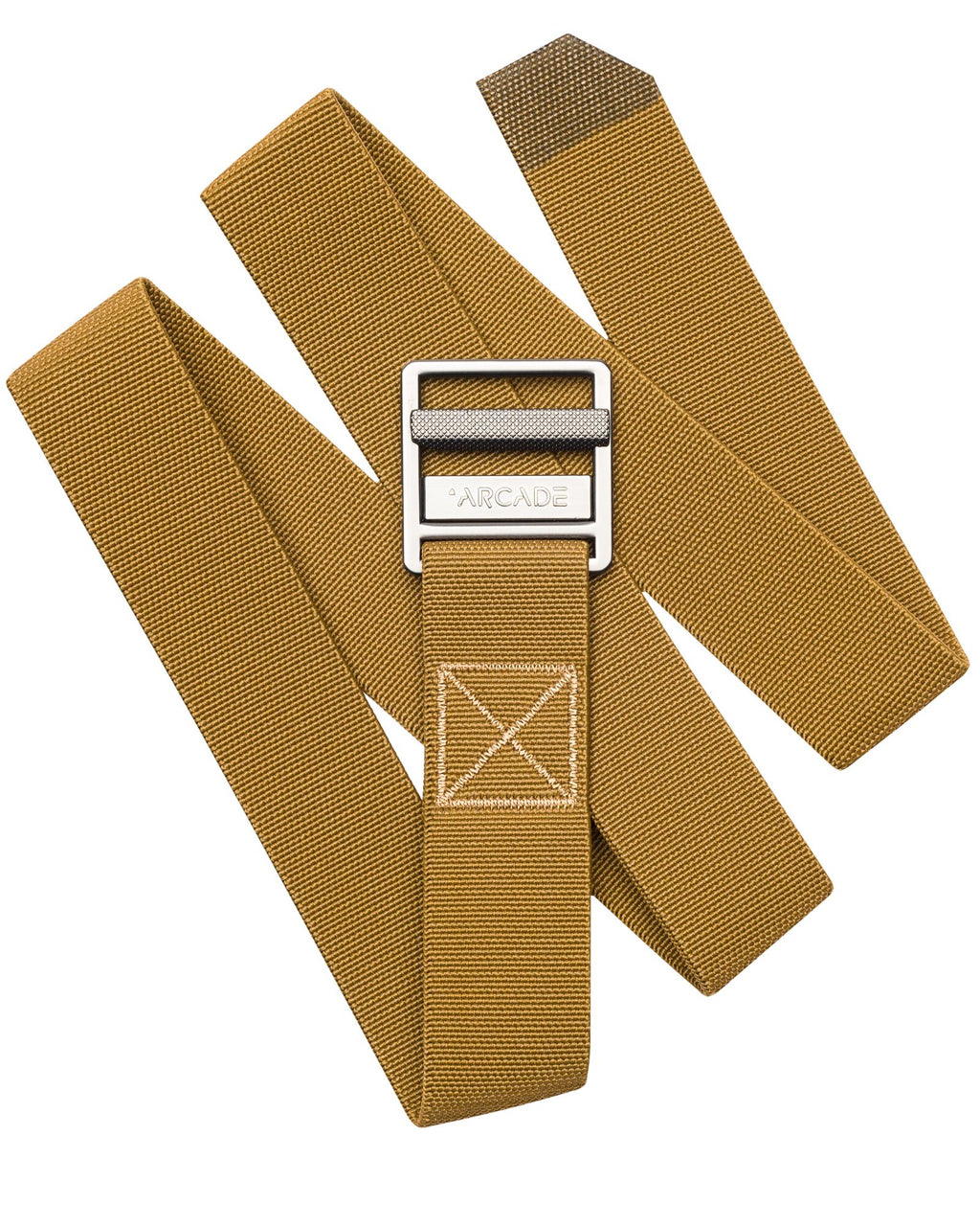 Arcade Belts Guide Metal Brown