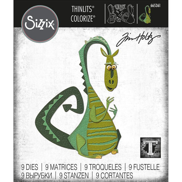 Sizzix Thinlits Dies: Rupert Colorized, by Tim Holtz (665361)