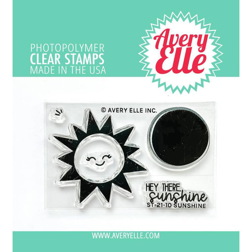 "Avery Elle 2""x3"" Clear Stamps: Sunshine (AE2110)-Only One Life Creations"