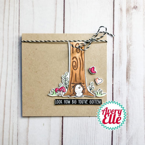 "Avery Elle 4""x3"" Clear Stamps: Look how Big (AE2105)-Only One Life Creations"