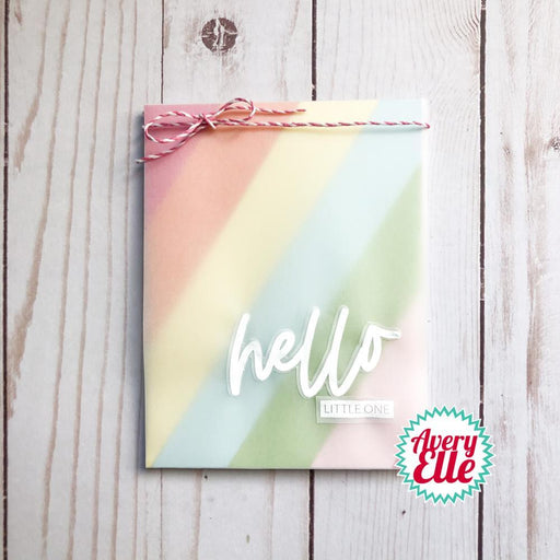 "Avery Elle 4""x6"" Clear Stamps: Loads of Hello (AE2111)-Only One Life Creations"
