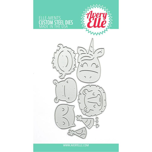 Avery Elle Elle-ments Dies: Peek-a-Boo Birthday Toppper (D1002)-Only One Life Creations