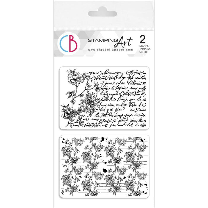 "Ciao Bella 4""x6"" Clear Stamps: Breathe Darling (PS6020)-Only One Life Creations"