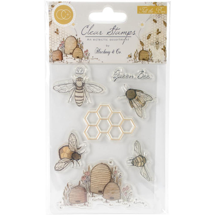 Craft Consortium A5 Clear Stamp: Tell the Bees (CSTMP002)-Only One Life Creations