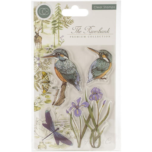 Craft Consortium A5 Clear Stamps: Kingfisher (CSTMP010)-Only One Life Creations