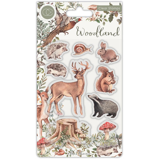 Craft Consortium Clear Stamps: Woodland, Animals (CSTMP053)-Only One Life Creations