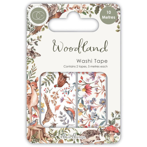 Craft Consortium Washi Tape: Woodland 2/pkg (CWTPE007)-Only One Life Creations