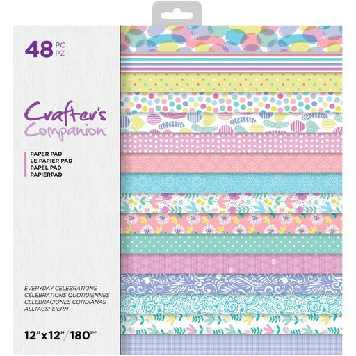 "Crafter's Companion 12""x12"" Paper Pad: Everyday Celebrations (12EVCE)-Only One Life Creations"