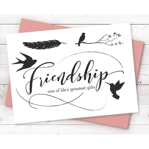 Crafter's Companion Clear Stamps: Friendship (TPFRIEND)-Only One Life Creations