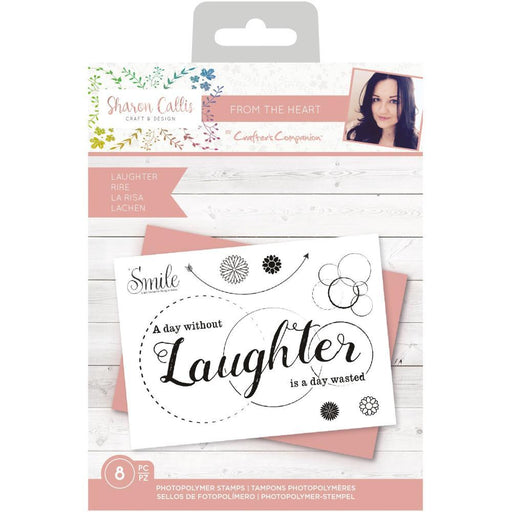 Crafter's Companion Clear Stamps: Laughter (TPLAUGH)-Only One Life Creations
