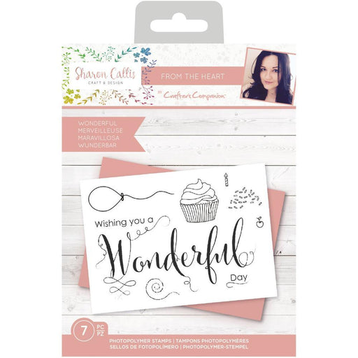 Crafter's Companion Clear Stamps: Wonderful (TPWONDER)-Only One Life Creations