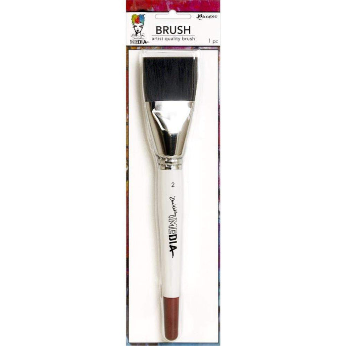 "Dina Wakley Media Stiff Bristle Brush: 2"" (MDA71143)-Only One Life Creations"