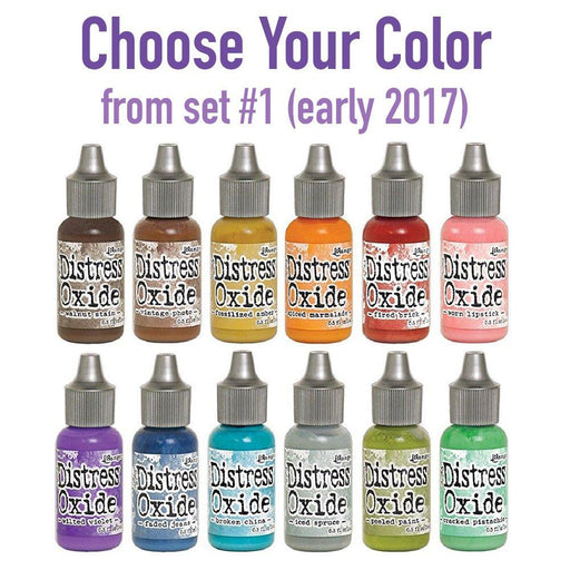 Distress Oxide Reinkers, Choose Your Color from set #1 (early 2017), by Tim Holtz-Only One Life Creations