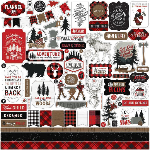 "Echo Park 12""x12"" Collection Kit: Let's Lumberjack (LU225016)-Only One Life Creations"