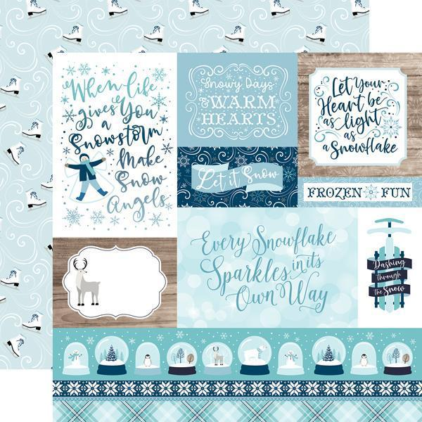 "Echo Park 12""x12"" Collection Kit: Winter Magic (IM223016)-Only One Life Creations"