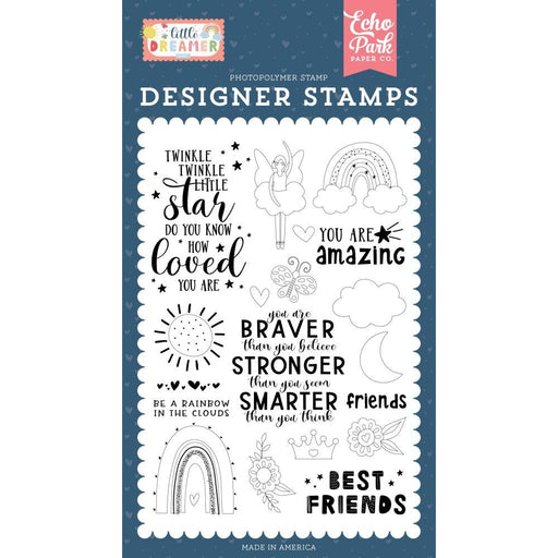 Echo Park Clear Stamps: Best Friends (LD237043)-Only One Life Creations
