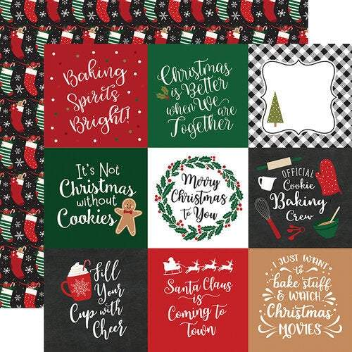 "Echo Park Collection Kit 12""X12"": A Gingerbread Christmas (GC221016)-Only One Life Creations"
