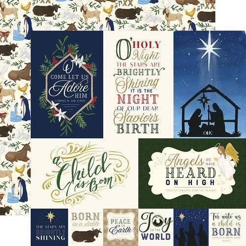 "Echo Park Collection Kit 12""X12"": Silent Night (SN222016)-Only One Life Creations"