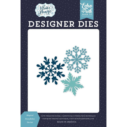 Echo Park Dies: Magical Snowflake (IM223040)-Only One Life Creations