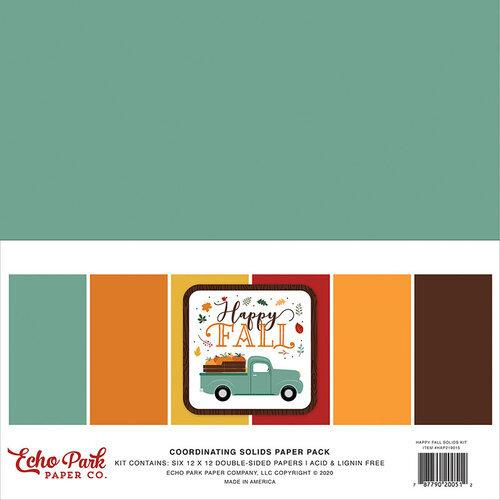 "Echo Park Mega Bundle Collection Kit 12""X12"": Happy Fall (MB219050)-Only One Life Creations"