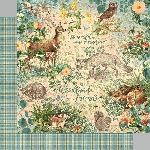 "Graphic 45 12""x12"" Collection Pack: Woodland Friends (G4502135)-Only One Life Creations"