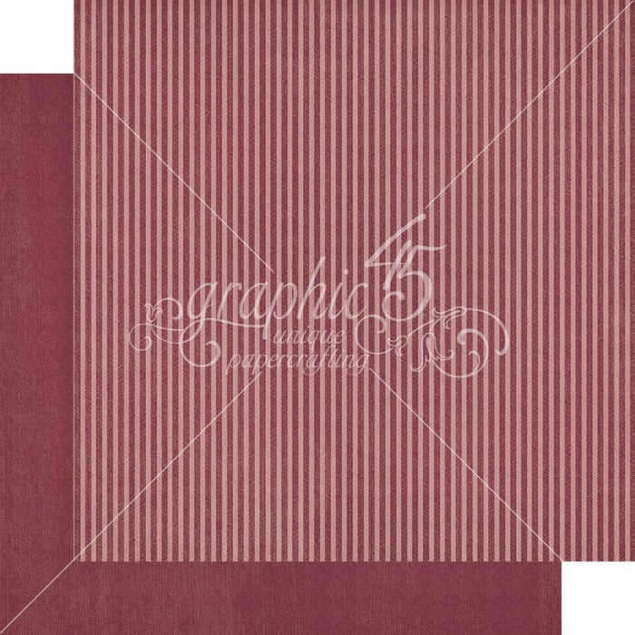 "Graphic 45 12""x12"" Paper Pad: Blossom, Patterns & Solids (G4502161)-Only One Life Creations"