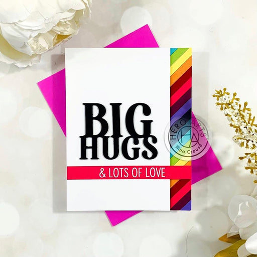 Hero Arts Stamp and Cut: Big Hugs (HADC283)-Only One Life Creations