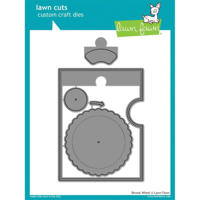Lawn Fawn Lawn Cuts Custom Craft Die: Reveal Wheel (LF1703)-Only One Life Creations