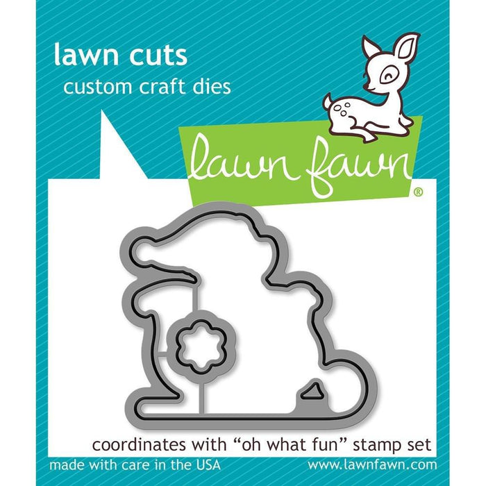Lawn Fawn Oh What Fun Lawn Cuts Custom Craft Die: (LF1777)-Only One Life Creations