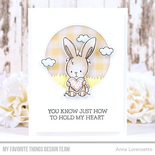 "My Favorite Things 4""x4"" Clear Stamps: Wish You Were Hare (RAM010)-Only One Life Creations"