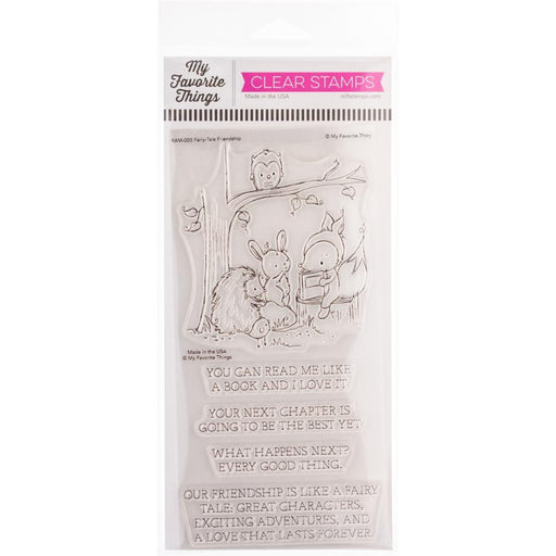 "My Favorite Things 4""x8"" Clear Stamps: Fairy Tale Friendship (RAM005)-Only One Life Creations"