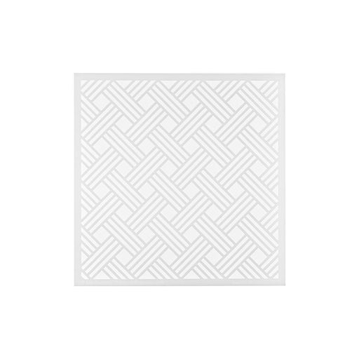 "My Favorite Things 6""x6"" Premium Stencil: Basket Weave (MFTST152)-Only One Life Creations"