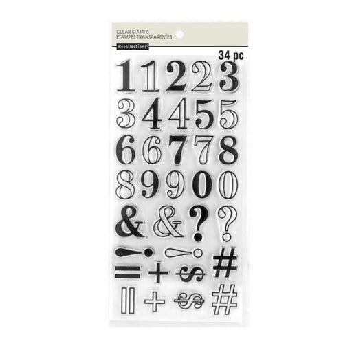 Recollections Clear Stamps: Numbers (609976)-Only One Life Creations