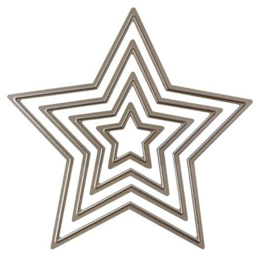 Recollections Cutting Dies: Layering Star (624788)-Only One Life Creations