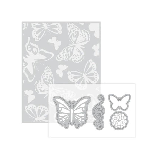 Recollections Embossing Folder and Dies: Butterfly (508074)-Only One Life Creations
