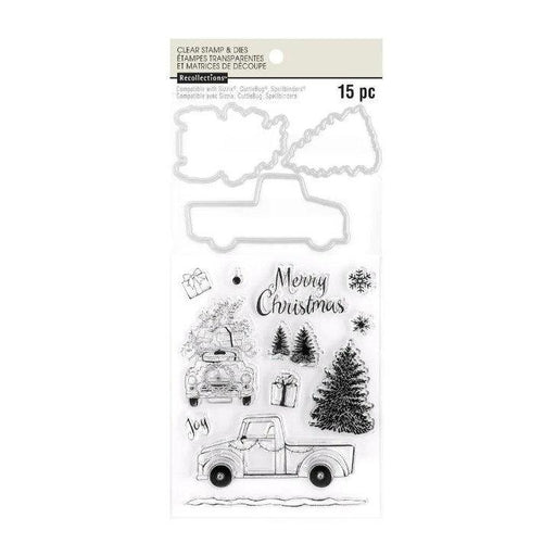 Recollections Stamp & Die Set: Christmas Truck (609979)-Only One Life Creations