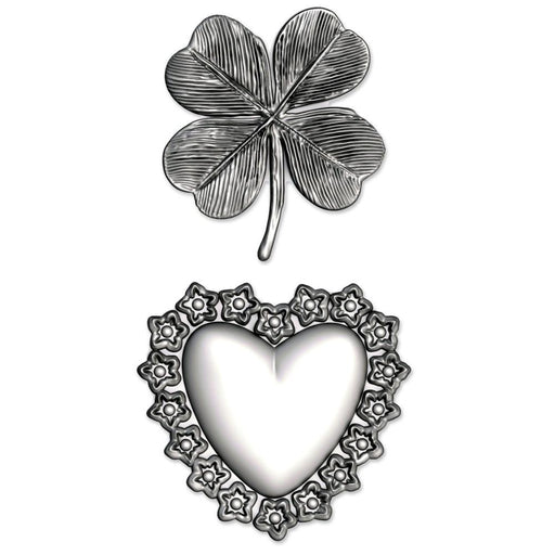 Sizzix 3D Impresslits Embossing Folder: Lucky Love, by Tim Holtz (665227)-Only One Life Creations