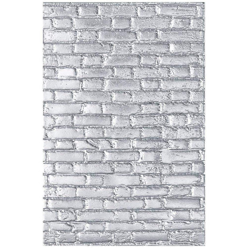 Sizzix 3D Texture Fades Embossing Folder: Brickwork, by Tim Holtz (664259)-Only One Life Creations