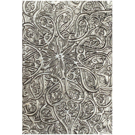 Sizzix 3D Texture Fades Embossing Folder By Tim Holtz: Engraved (664249)-Only One Life Creations