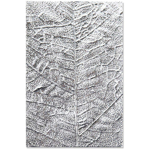 Sizzix 3D Texture Fades Embossing Folder: Leaf Veins, by Tim Holtz (664488)-Only One Life Creations
