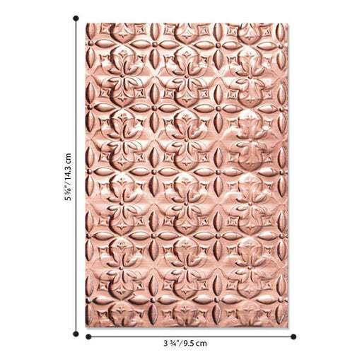Sizzix 3D Textured Impressions: Adorned Tile, by Jen Long (664426)-Only One Life Creations