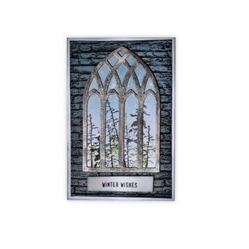 Sizzix Bigz Die By Tim Holtz: Cathedral Window (664974)-Only One Life Creations