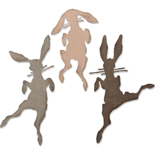 Sizzix Thinlits Dies: Bunny Hop, by Tim Holtz (664421)-Only One Life Creations